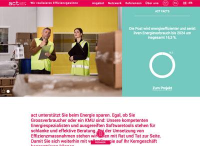act Cleantech Agentur Schweiz