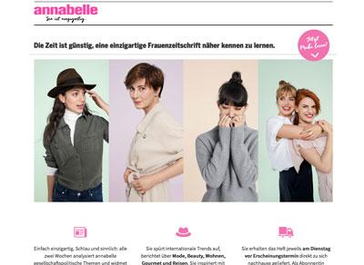 Tamedia AG - Annabelle